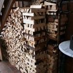 Zirbelkiefer als Brennholz